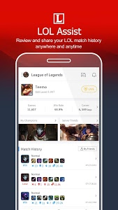 screenshot of Garena version 2.3.5.101