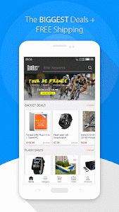 screenshot of GearBest Shopping version 1.7.2