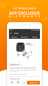 screenshot of Gearbest Online shopping version 2.0.0