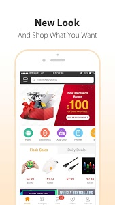 screenshot of GearBest Online Shopping version 3.4.1