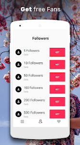 screenshot of Get likes & Real Follower for Tik Tok by Hashtags version 3.0