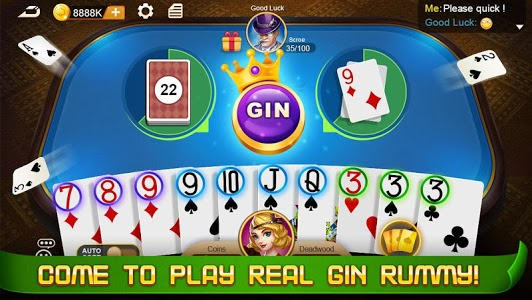 screenshot of Gin Rummy version 1.1.3