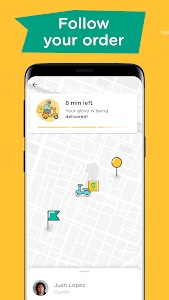 screenshot of Glovo: Order Anything. Food Delivery and Much More version 5.68.0