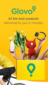 screenshot of Glovo-Order Anything. Food Delivery and Much More version 5.14.0