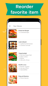 screenshot of Glovo: Order Anything. Food Delivery and Much More version 5.42.0