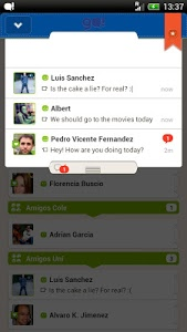 screenshot of Go!Chat for Facebook version 6.2.2