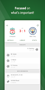 screenshot of GoalAlert - The fastest football app version Varies with device