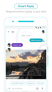screenshot of Google Allo version Varies with device