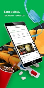 screenshot of Grab - Transport, Food Delivery, Payments version 5.33.0