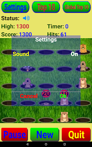 screenshot of Groundhog Hunter version 1.72