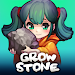 Grow Stone Online : 2d pixel RPG, MMORPG game