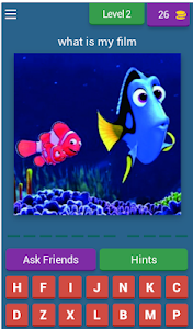 screenshot of Guess Animated Films version 7.2.1z