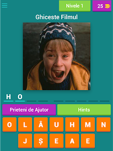 screenshot of Guess The Movie version 3.1.8z