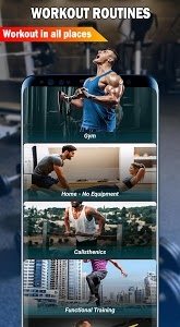 screenshot of Gym Fitness & Workout : Personal trainer version 1.3.4