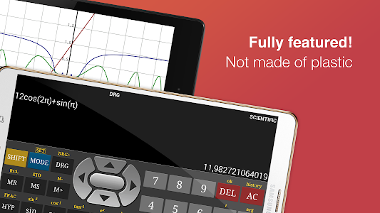 screenshot of Scientific Calculator Free version Varies with device