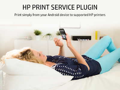 screenshot of HP Print Service Plugin version 19.2.124
