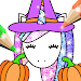 Download Halloween Coloring Book Glitter 1.0.4 APK