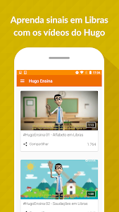 screenshot of Hand Talk Translator version 2.7.15
