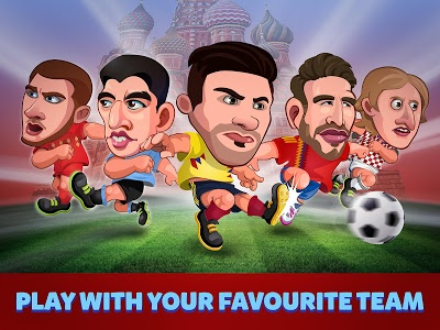 screenshot of Head Soccer Russia Cup 2018 version 1.0.0