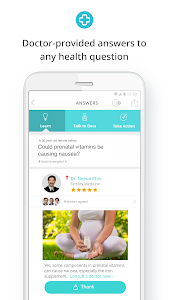 screenshot of HealthTap version 7.12.0(prod)