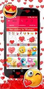screenshot of 💕😍 WAStickerApps - Love stickers for whatsapp version 4.1.2