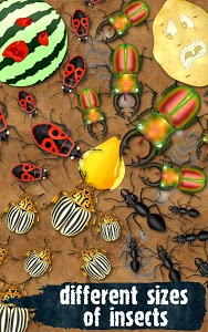 screenshot of Hexapod ant smasher killing insects squash beetles version 1.1.14