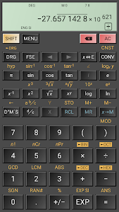 screenshot of HiPER Scientific Calculator version 6.0.5