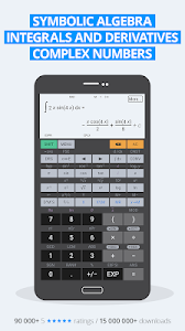 screenshot of HiPER Scientific Calculator version 6.4.4