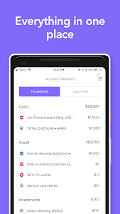 screenshot of Honeyfi: Couples finances & budgeting version 1.0.96