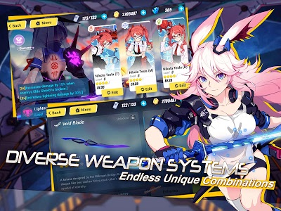 screenshot of Honkai Impact 3rd version 2.2.1