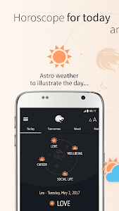 screenshot of iHoroscope - your astro future version Varies with device