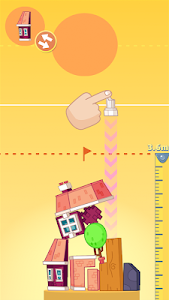 screenshot of House Stack: Fun Tower Building Game version 1.0.1_150