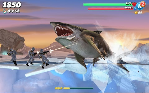 screenshot of Hungry Shark World version 3.1.4