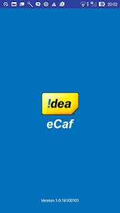 screenshot of Idea eCaf version 1.0.17062202