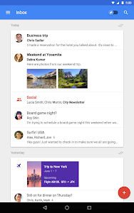 screenshot of Inbox by Gmail version Varies with device