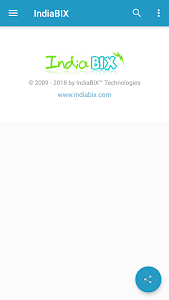 screenshot of IndiaBIX version 2.2