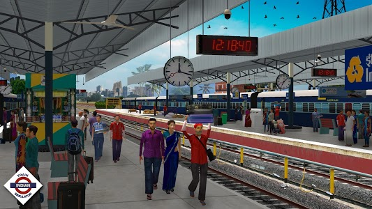 screenshot of Indian Train Simulator version Varies with device