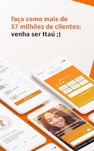 screenshot of Itaú abreconta version 1.1.49