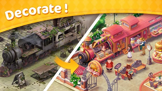 screenshot of Jellipop Match-Decorate your dream town! version 7.2.9