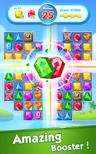 screenshot of Jewel Crush\u2122 - Jewels & Gems Match 3 Legend version 3.2.6