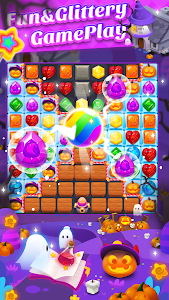 screenshot of Jewel Witch -- Magical Blast Free Puzzle Game version 8.7.2