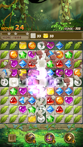 screenshot of Jewels Jungle : Match 3 Puzzle version 1.7.9