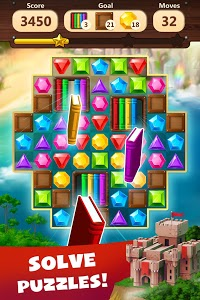 screenshot of Jewels Planet - Free Match 3 & Puzzle Game version 1.1.9