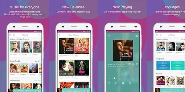 screenshot of Jio Music - Jio Caller Tune version 1.3