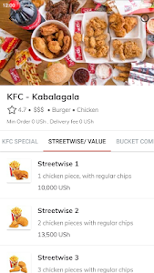 screenshot of Jumia Food: Order meals online version 2.6.1