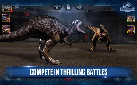 screenshot of Jurassic World™: The Game version 1.21.13