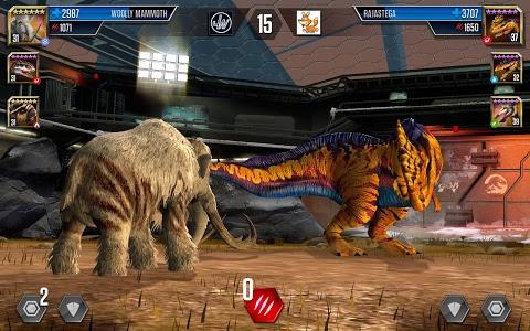 screenshot of Jurassic World™: The Game version 1.15.5
