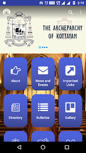 screenshot of Kottayam Archdiocese version 5.2