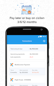 screenshot of Kredivo - Installment Without Credit Card and Loan version 3.0.7