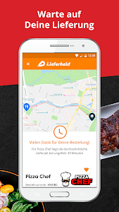 screenshot of LIEFERHELD | Order Food version Varies with device